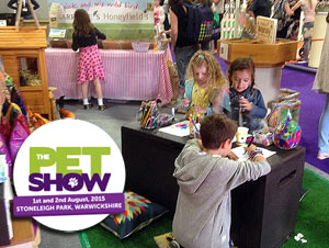 Honeyfields Visit The Pet Show 2015