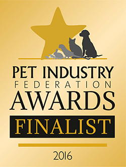 Pet Industry Federation Awards Finalist