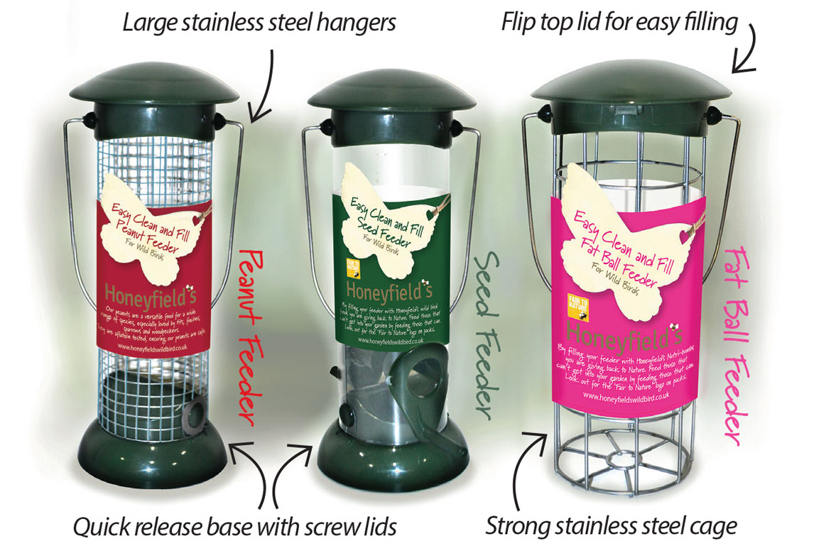 Easy Clean and Fill Feeders