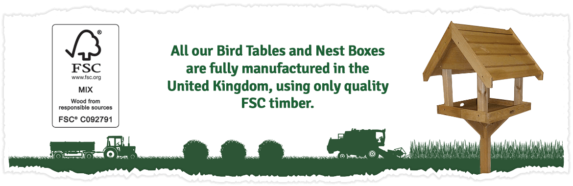 A wide range of wild bird feeders with something to suit every garden...