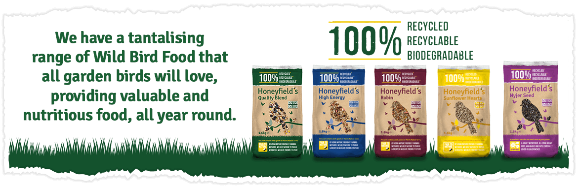 We have a tantalising range of Wild Bird Food that all garden birds will love providing valuable and nutritious food, all year round...