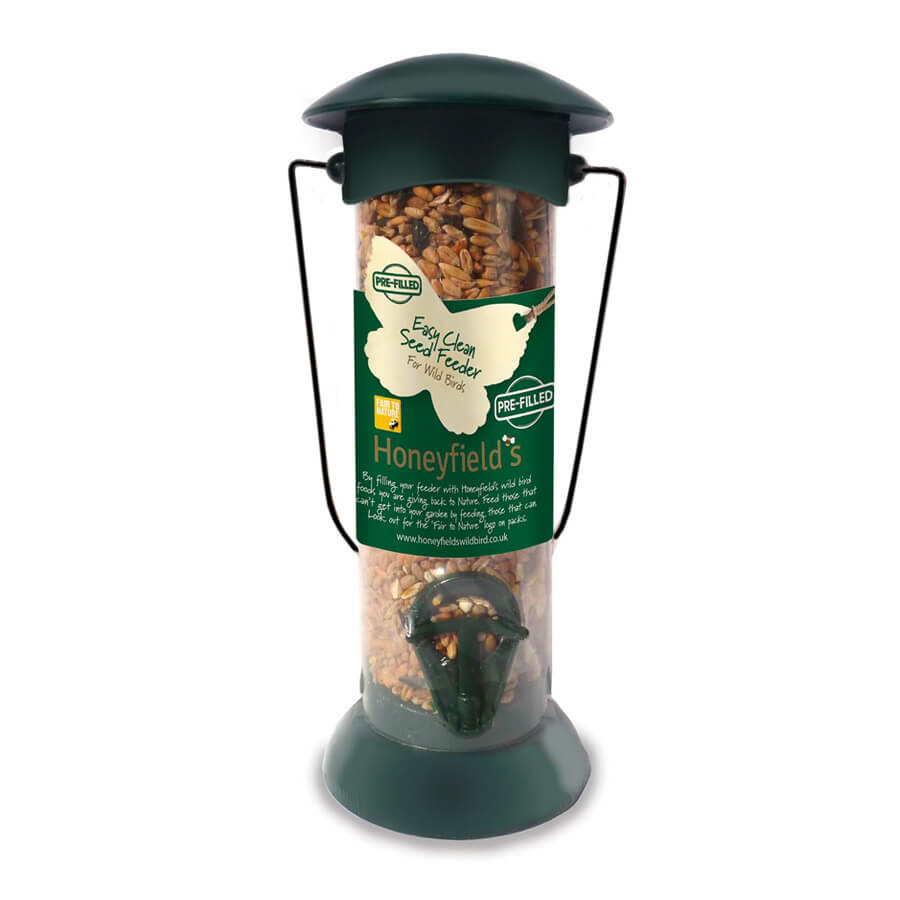 Pre-Filled Seed Feeder