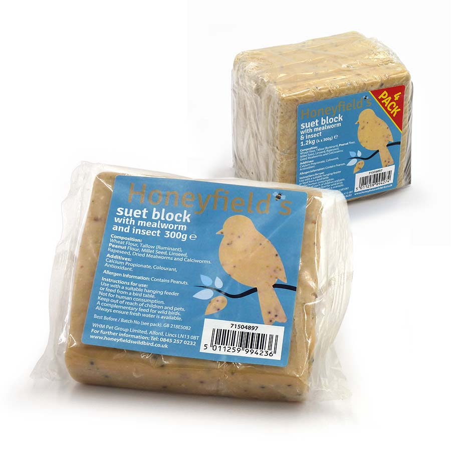 Insect Suet Treat Block