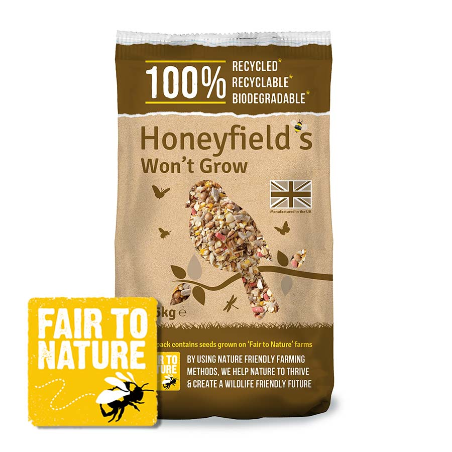 Honeyfield's Won't Grow Wild Bird Food
